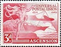 Ascension 1949 Universal Postal Union SG 52 Fine Mint