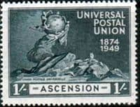 Ascension 1949 Universal Postal Union SG 55 Fine Mint