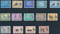 Ascension 1963 Queen Elizabeth II Birds Set Fine Mint