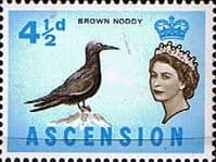 Ascension 1963 Queen Elizabeth II Birds SG 74 Fine Mint