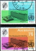 Ascension 1966 World Health Organisation Set Fine Used