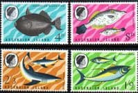 Ascension Island 1968 Fish Set Fine Mint