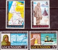 Ascension Island 1972 Shackleton Set Fine Mint