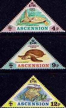 Stamps of Ascension Island