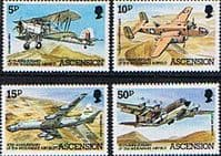 Ascension Island 1982 Wideawake Airfield Set Fine Mint