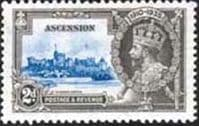 Ascension Islands 1935 King George V Silver Jubilee SG 32 Fine Mint