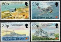 Ascension Islands 1995 End of Second World War Set Fine Mint