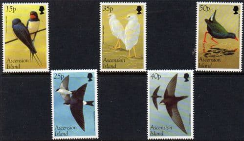Stamp Stamps Ascension Islands 1985 Queen Mother Life and Times Set Fine Mint