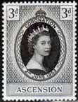 Ascension Islands Queen Elizabeth II 1953 Coronation Fine Mint
