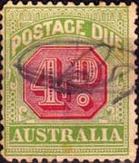 Australia 1912 Post Due SG D 83 Good Used