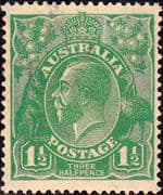 Australia 1918 SG 61 King George V Head Fine Mint