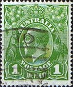 Australia 1926 SG 86 King George V Head Fine Used