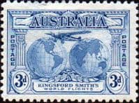 Australia 1931 Kingsford Smith's Flights SG 122 Fine Mint