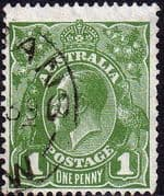Australia 1931 SG 125 King George V Head Fine Used