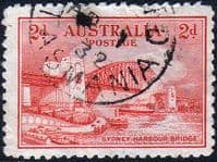 Australia 1932 SG 141 Sydney Harbour Bridge Fine Used