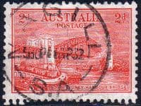 Australia 1932 SG 144 Sydney Harbour Bridge Fine Used