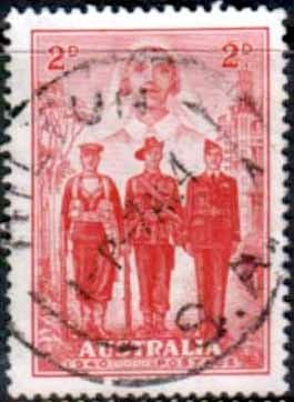 Australia 1940 Imperial Forces SG197 Fine Used