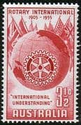 Australia 1955 SG 281 Rotary International Fine Mint