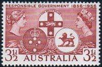 Australia 1956 SG 289 Responsible Government Fine Mint