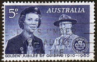 Australia 1960  Scouts and Guides SG 334 Fine Used