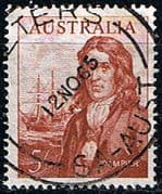 Australia 1963 SG 356 Dampier and Ship Fine Used