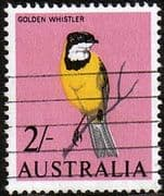 Australia 1964 SG 366 Birds Golden Whistler Fine Used