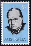 Australia 1966 Churchill Fine Mint