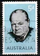 Australia 1966 Churchill Fine Used