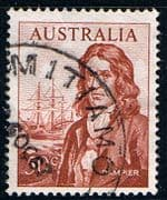 Australia 1966 SG 399 Captain Dampier and Roebuck Fine Used