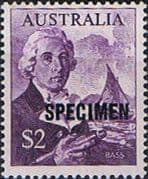 Australia 1966 SG 402 Bass and Whaleboat SPECIMEN Fine Mint