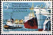 Australia 1969 Ports and Harbours SG 438 Fine Used