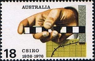 Postage Stamps Australia 1976 Industrial Research Organisation Fine Mint