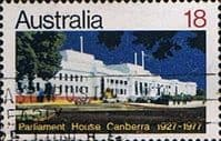 Australia 1977 Parliament House Canberra Fine Used