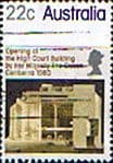 Stamps Australia 1980 High Court Building Canberra Fine Used
