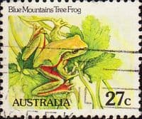 Australia 1981 Blue Mountain Tree Frog SG 790a Fine Used