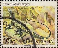 Australia 1981 Eastern Water Dragon SG 801 Fine Used