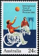 Australia 1981 International Year for Disabled Persons Fine Mint