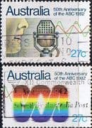 Australia 1982 Australian Broadcasting Commission Set Fine Used