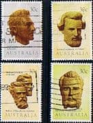 Australia 1983 Explorers of Australia Set Fine Used