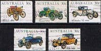 Australia 1984 Veteran and Vintage Cars Set Fine Used