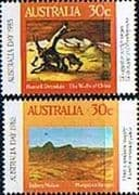 Australia 1985 Australia Day Set Fine Used