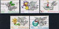Australia 1985 Christmas Set Fine Used