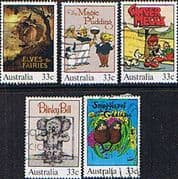 Australia 1985 Classic Australian Children's Books Set Fine Used