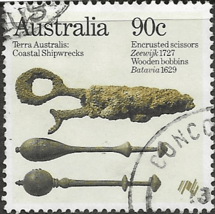 Australia 1985 Relics from Early Shipwrecks SG 995 Fine Used