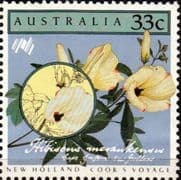 Australia 1986 Cook's Voyage to New Holland SG 1003 Fine Mint