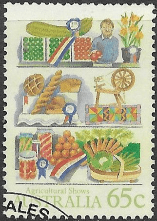 Australia 1987 Agricultural Shows SG 1055 Fine Used