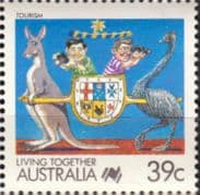 Australia 1988 Living Together Cartoons SG 1121b Fine Mint