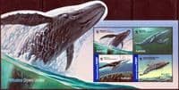Australia 2006 Endangered Species Whales Miniature Sheet Fine Used