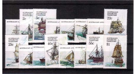 Stamps Australian Antarctic Territory 1979 Ships SG 37 Aurora Fine Mint