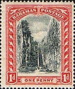 Bahamas 1901 Queens Staircase SG 58 Fine Mint